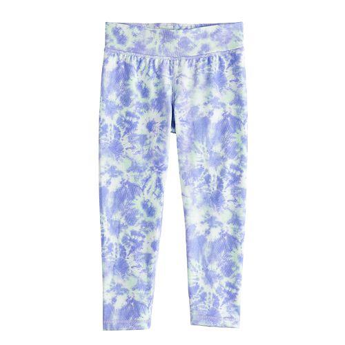 Girls 4-12 Jumping Beans® Space-Dye Capri Leggings