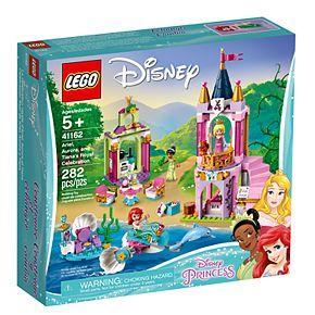 Disney Princess LEGO Disney Princess Ariel, Aurora, and Tiana's Royal Celebration 41162