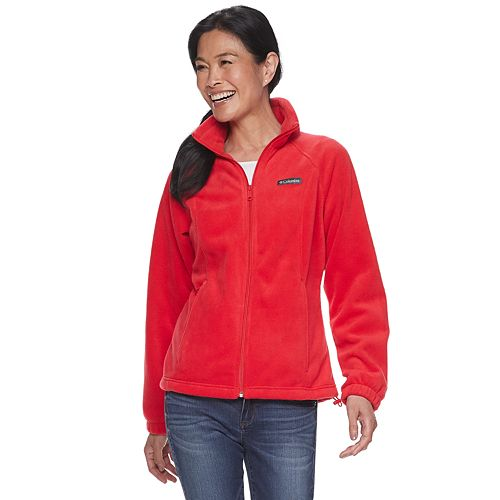 Women's Columbia Benton Springs Zip-Front Fleece Jacket