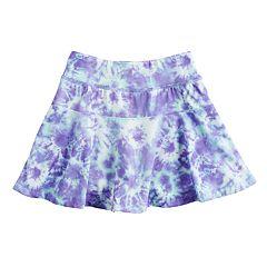 Girls 4-12 Jumping Beans® Tie-Dye Skort