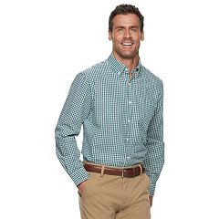 Men's Croft & Barrow® Seersucker Button-Down Shirt