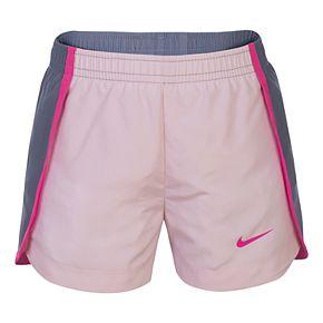 Girls 4-6x Nike Colorblock Dolphin-Hem Running Shorts