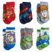 Disney's Toy Story Toddler Boy 6-pack Low-Cut Socks