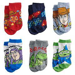 Disney's Toy Story Toddler Boy 6-pack Low-Cut Socks