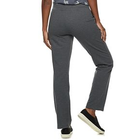 Women's SONOMA Goods for Life? Midrise French Terry Straight-Leg Pants
