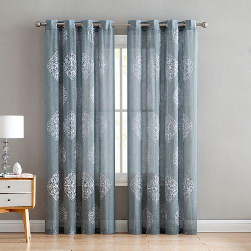 VCNY 1-panel Gemma Window Curtain
