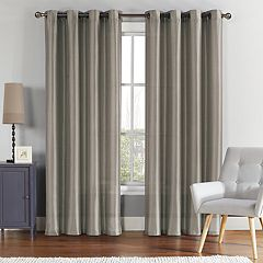 VCNY 2-pack Ischia Embroidered Sheer Window Curtains