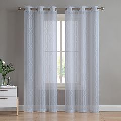 VCNY 2-pack Irongate Sheer Window Curtains