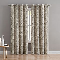 VCNY 2-pack Bryce Window Curtains
