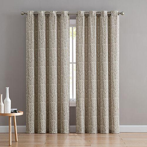 VCNY 1-panel Bryce Window Curtain