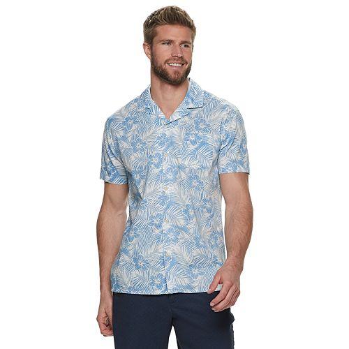 Men's SONOMA Goods for Life™ Tropical Camp Shirt