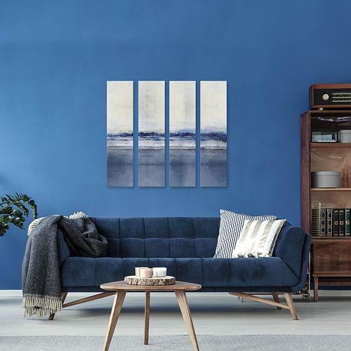 Artissimo Designs Perspective I Canvas Wall Art 4-piece Set