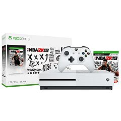 Xbox One S 1TB NBA 2K19 Bundle