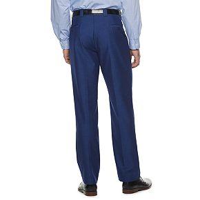 Men's Steve Harvey Tailored-Fit Textured Pleated Suit Pants