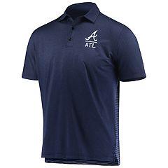 dc36379ae64 Men s Under Armour Atlanta Braves Polo