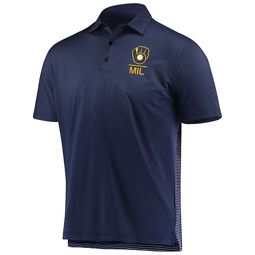 Men's Under Armour Milwaukee Brewers Polo