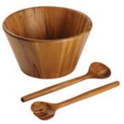 Anolon Pantryware 3-pc. Teakwood Salad Serving Set