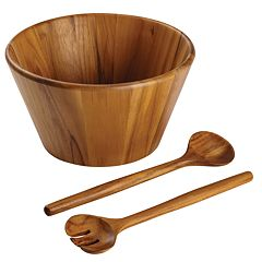 Anolon Pantryware 3-pc. Teakwood Salad Serving Set