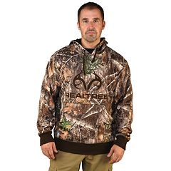 Men's Realtree Camo Fleece Pullover Hoodie