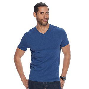 Men's Apt. 9 Solid V-neck Tee