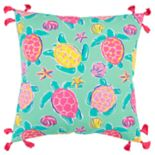Simply Southern Tortoise Decorative Throw Pillow