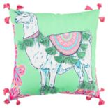Simply Southern Llama Unicorn Decorative Throw Pillow