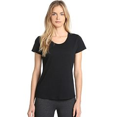 Women's Danskin Half Moon Short Sleeve Tee