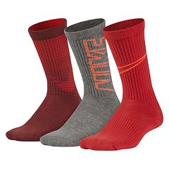 Boys Nike Performance 3-Pack Crew Socks