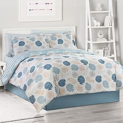 The Big One® Coastal Shells Reversible Bedding Set