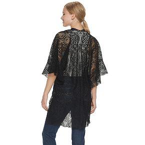 Mudd® Lace Ruffle Kimono