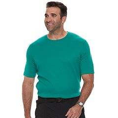 Big & Tall Croft & Barrow® Classic-Fit Easy-Care Crewneck Tee