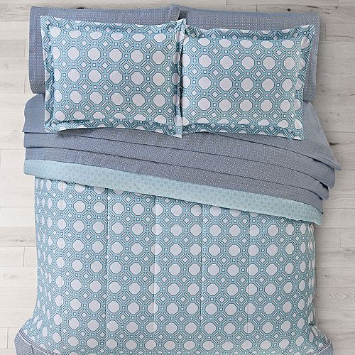 The Big One® Mixed Geo Reversible Bedding Set