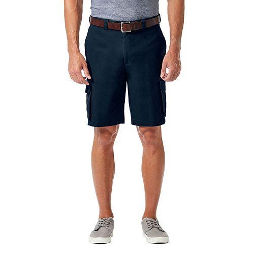 Big & Tall Haggar Stretch Cargo Shorts