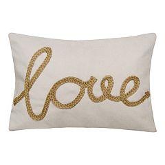 Spencer Home Decor Love Decorative Throw Pillow