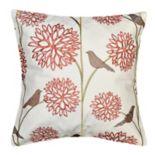Spencer Home Decor Harlow Birds Decorative Throw Pillow