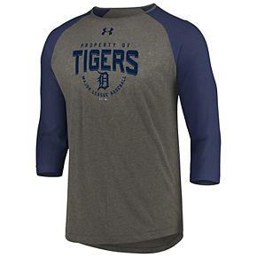 Men's Under Armour Detroit Tigers Raglan Tee