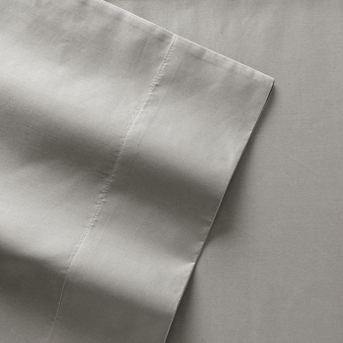 Queen Croft /& Barrow Easy Care 525-Thread Count Sheet Set Light Gray