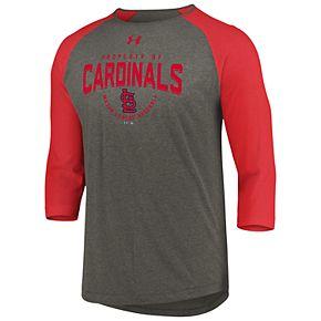 Men's Under Armour St. Louis Cardinals Raglan Tee