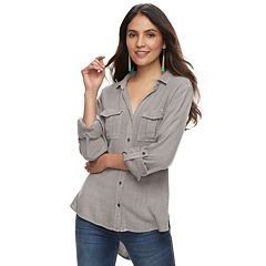 Women's Rock & Republic® Twill Shirt