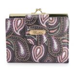 Buxton Pretty Paisley RFID-Blocking Lexington Wallet