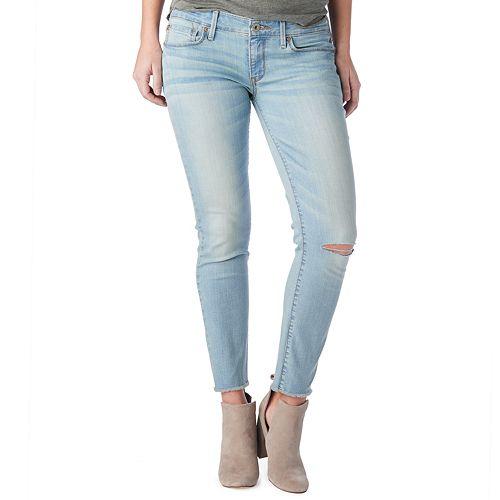 Juniors' DENIZEN from Levi's Low-Rise Slim Ankle Jeans