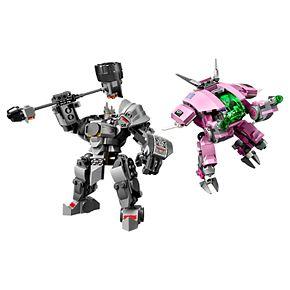LEGO Overwatch D.VA & Reinhardt 75973