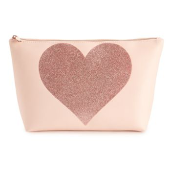 Jade & Deer Heart Beauty Bag