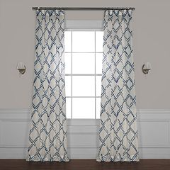 EFF Normandy Printed Sheer Window Curtain