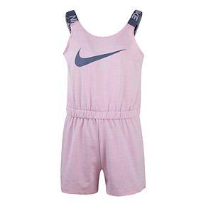 Girls 4-6x Nike Graphic Dri-FIT Romper
