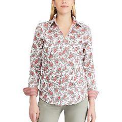 Petite Chaps Non-Iron Button Down Shirt