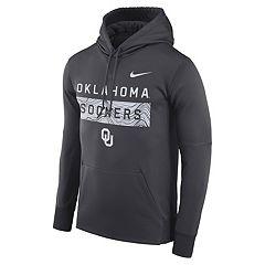 Men's Nike Oklahoma Sooners Therma Pullover Hoodie