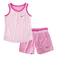 Girls 4-6x Nike Dri-FIT Tank Top & Shorts Set