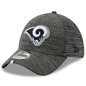 Adult New Era Los Angeles Rams 39THIRTY Training Flex-Fit Cap