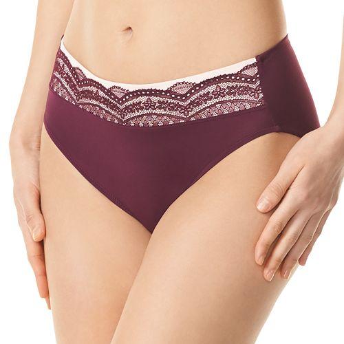 26f4a4d212121b Women's Warner's No Pinching. No Problems. Lace Hi-Cut Panty RT7401P